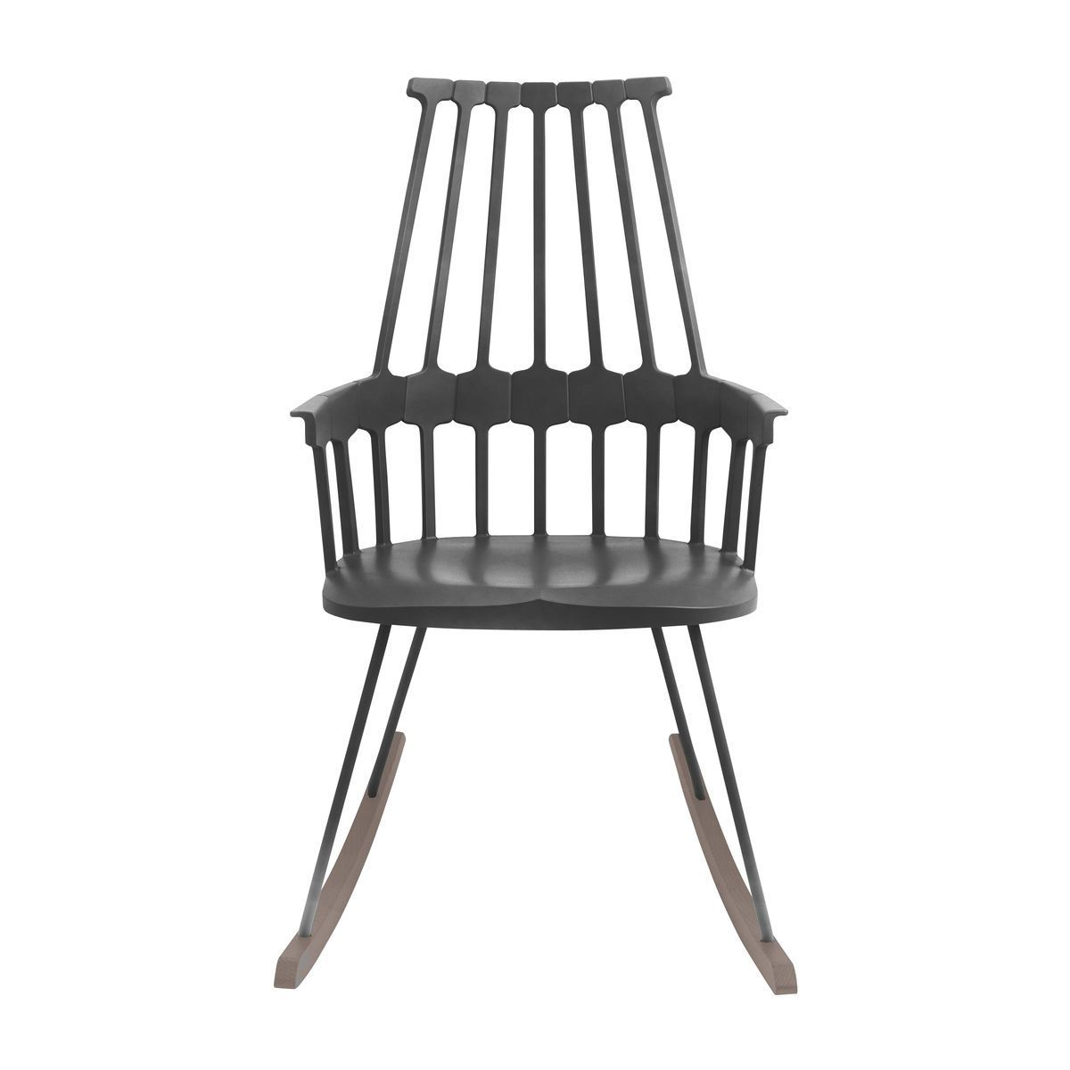 Kartell   Comback Rocking Chair   Black/sled Ash Tree Stained