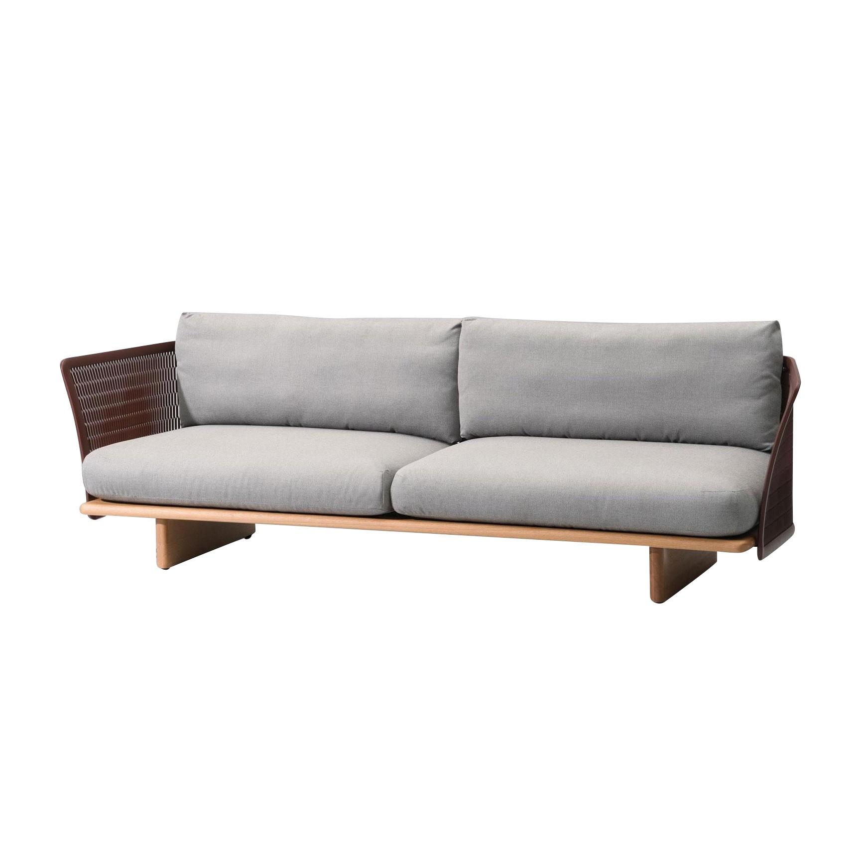 Kettal Mesh Outdoor 3 Seater Sofa Ambientedirect