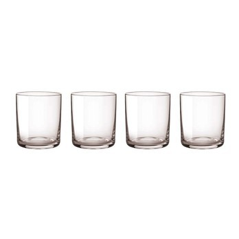 Stelton - Simply Crystal 4-Pieces Set - grey/H: 8,5cm
