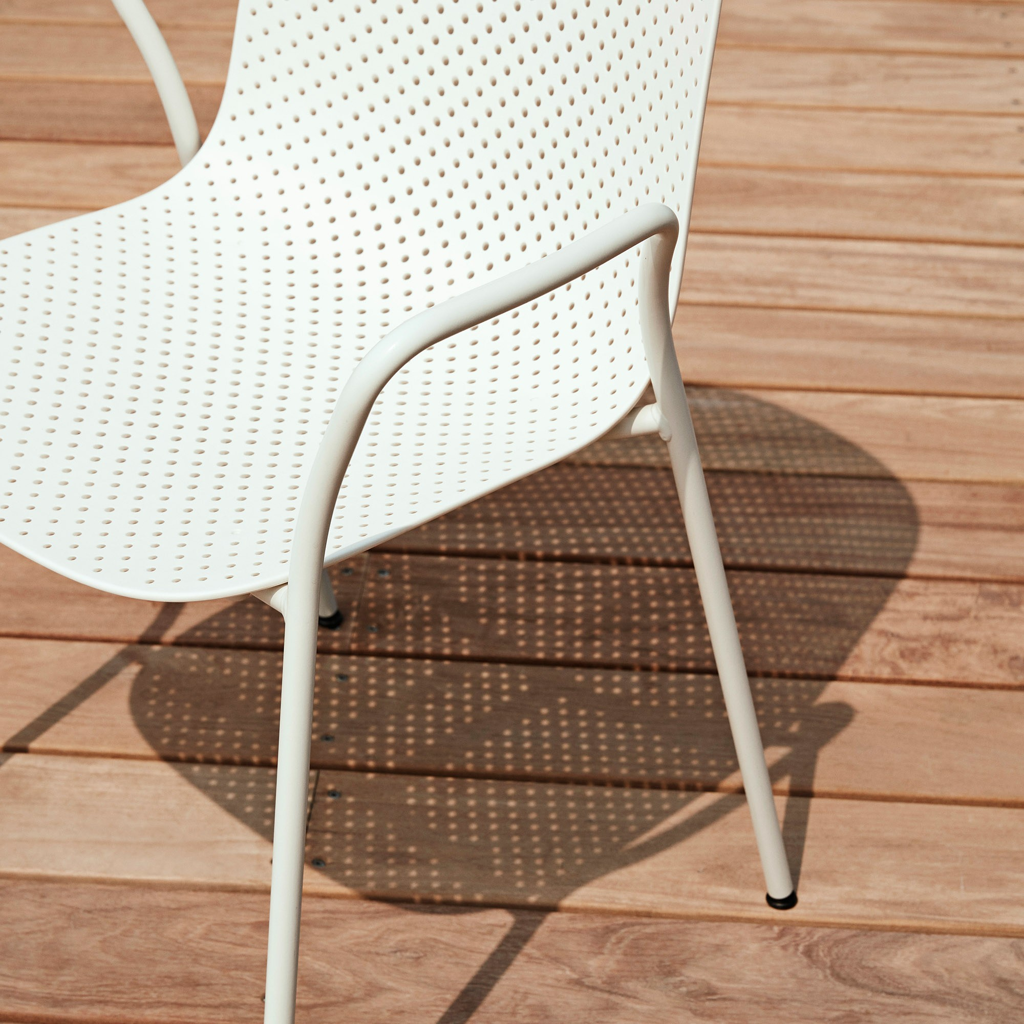 Hay 13Eighty Armchair - calk white / grey white