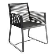 Kettal - Landscape - Chaise de jardin avec accoudoirs