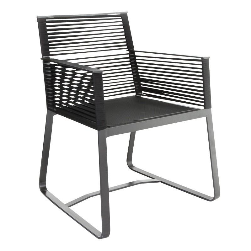Kettal Landscape - Chaise de jardin avec accoudoirs ...
