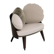 Petite Friture - Nubilo fauteuil 77x70x65cm