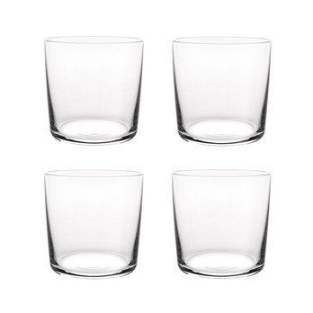 Alessi - Glass Family Wasserglas Set 4 tlg. - transparent/H 8,2cm, Ø32cl
