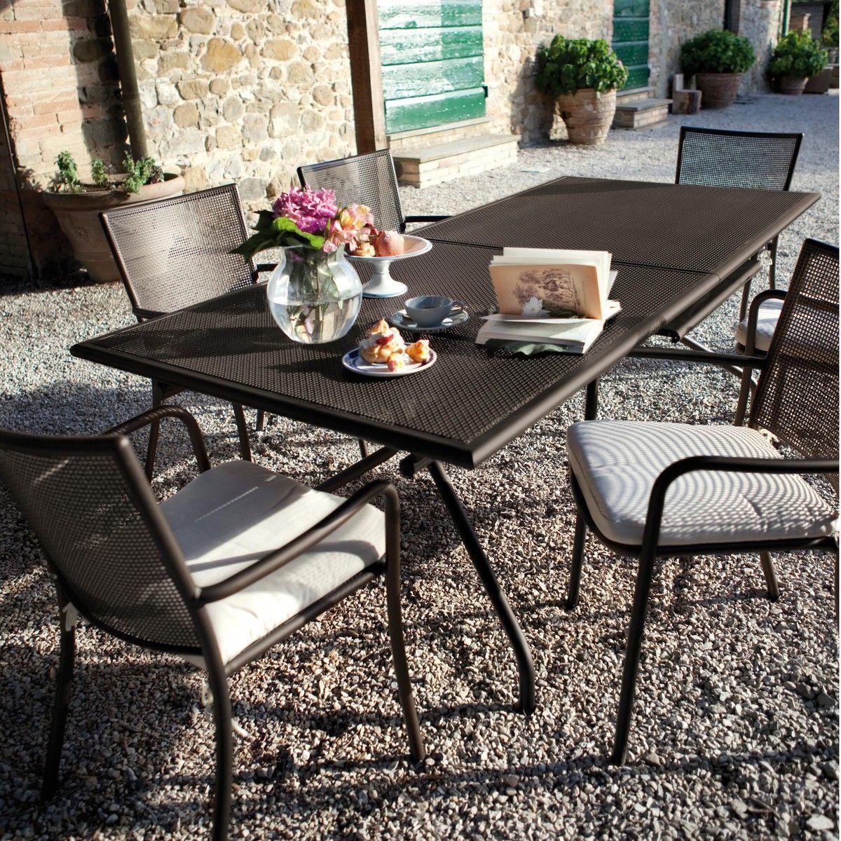 Athena table de jardin emu - Table jardin emu rennes ...