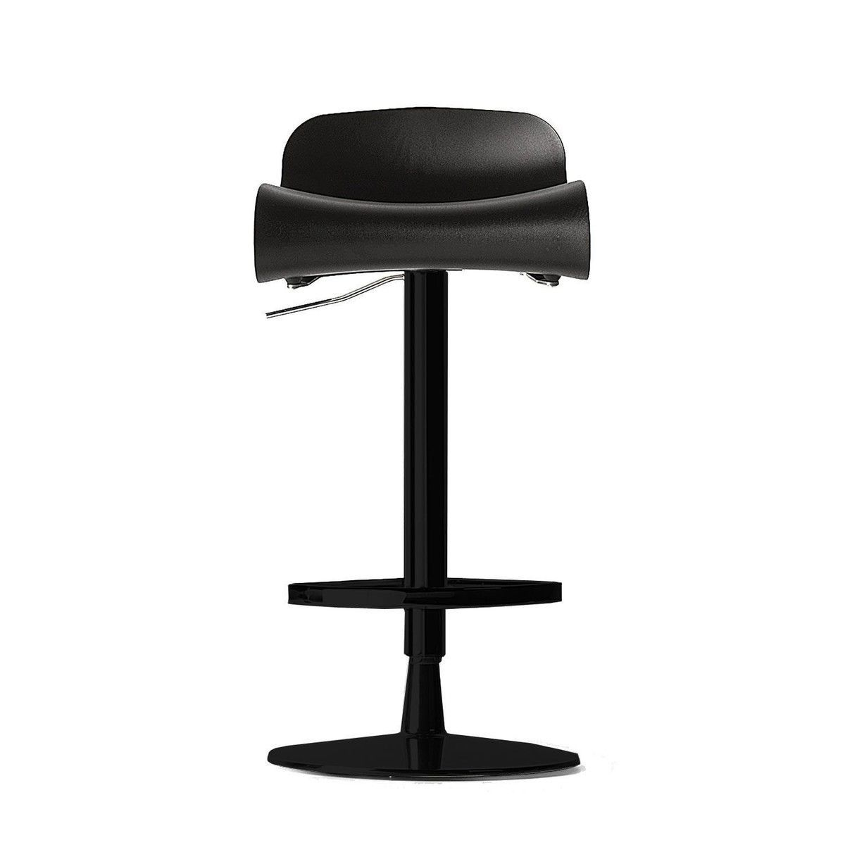 Kristalia - BCN Stool / Bar Stool adjustable - black/frame round/lacquered/  sc 1 st  AmbienteDirect & BCN Stool/Bar Stool adjustable | Kristalia | AmbienteDirect.com islam-shia.org