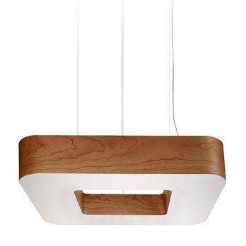 LZF Lamps - Cuad SM LED Pendelleuchte - kirsche/matt/3000K/3687lm/CRI90/Dimmung über DIM 0-10V