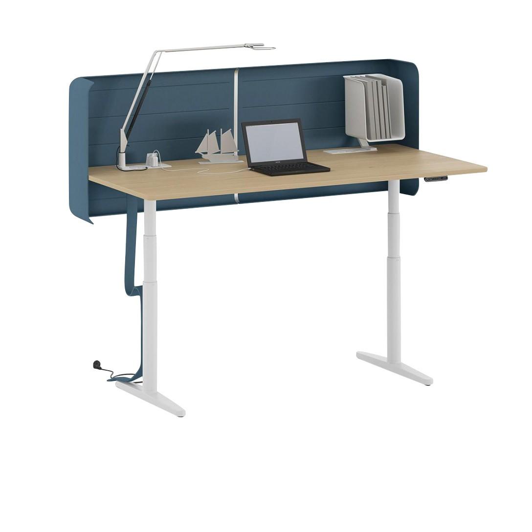 Vitra Tyde Höhenverstellbarer Schreibtisch 160x80cm Ambientedirect