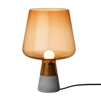 iittala - Leimu Tischleuchte - kupfer/Ø 30 cm/Lieferung ohne Leuchtmittel