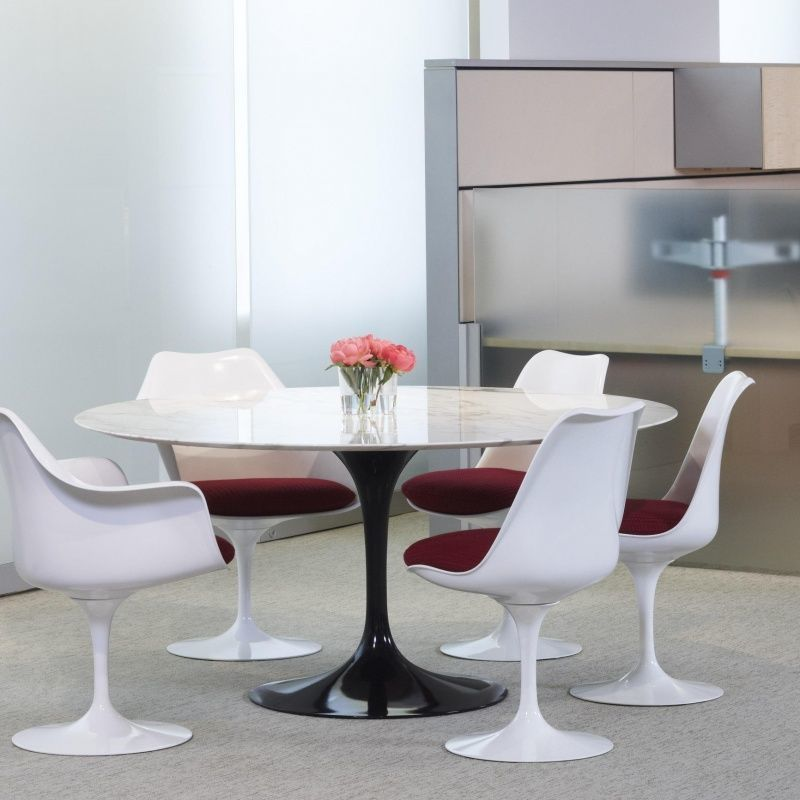 Saarinen tafel 120cm knoll international - Tafel knoll ...