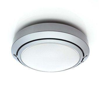 Luceplan - Metropoli D20/27P - aluminium/lackiert/diffusor polycarbonat/H10cm Ø27cm