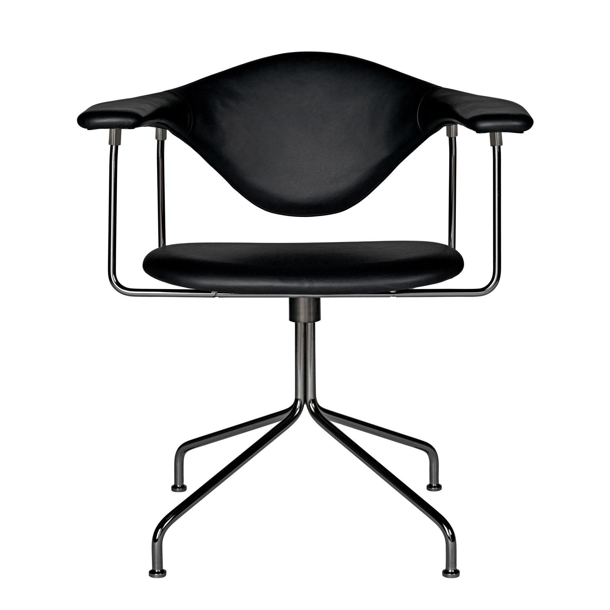 Gubi Masculo Dining Chair - Silla giratoria | AmbienteDirect