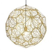 Tom Dixon - Etch Light Web - Lámpara de suspensión