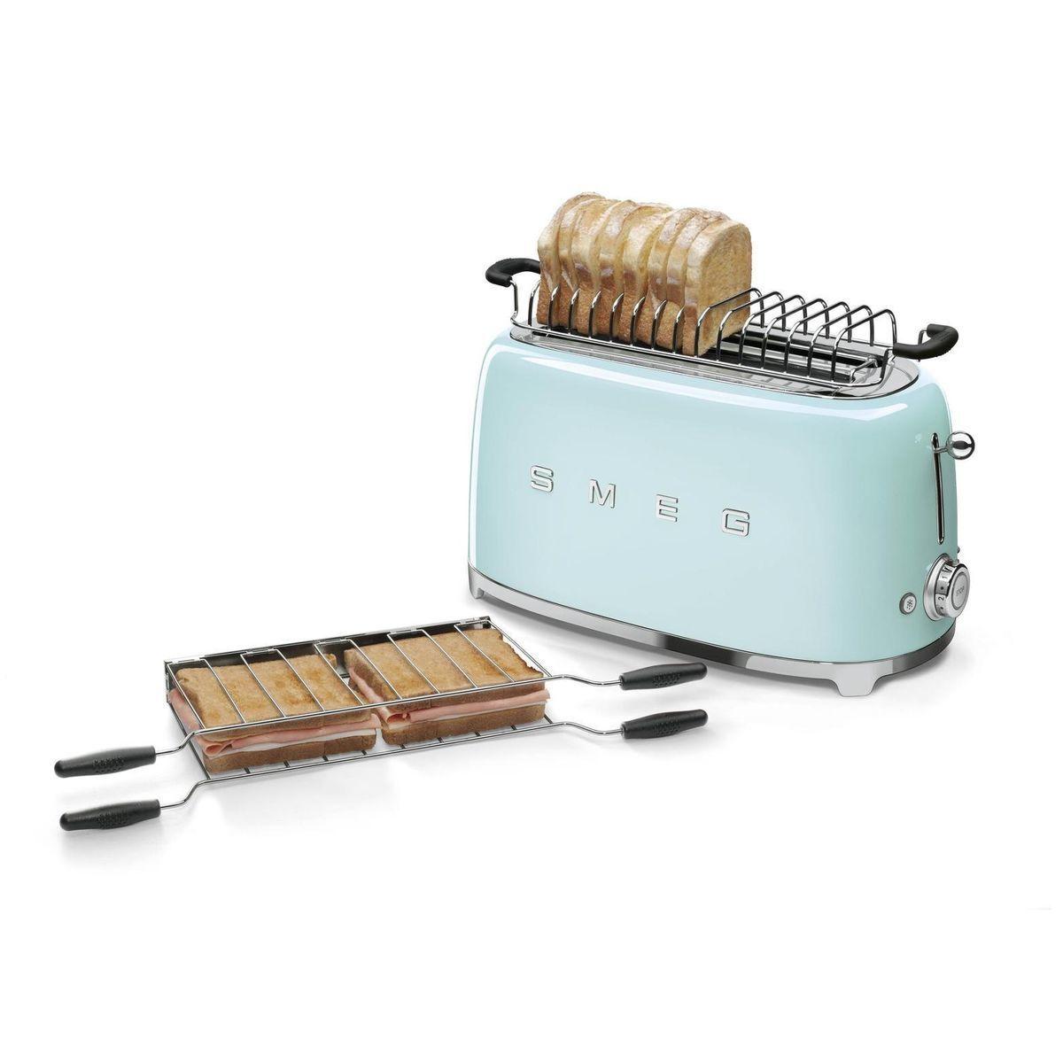 Colour Trend Smeg Toaster 4 Slices Tsf02 Smeg Ambientedirect Com