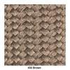 Kettal - Bitta Gartenstuhl / Armlehnstuhl - dry sand/braun/Kissen Stoff 285 dry sand laminate/Band 450 braun/Gestell aluminium 726 mangan