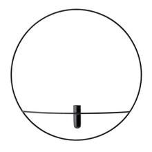 Menu - POV Circle Vase L