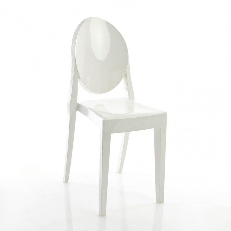 Victoria ghost chair kartell for Chaise victoria ghost