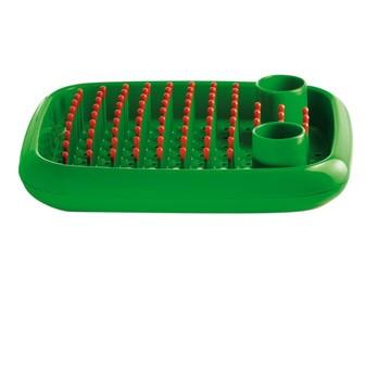 Magis - Dish Doctor Abtropfgestell - grün/Polypropylen/Kappen orange