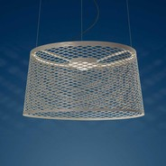 Foscarini - Foscarini Twice as Twiggy Grid LED-Suspension de jardin