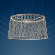Foscarini - Twice as Twiggy Grid LED-Suspension de jardin