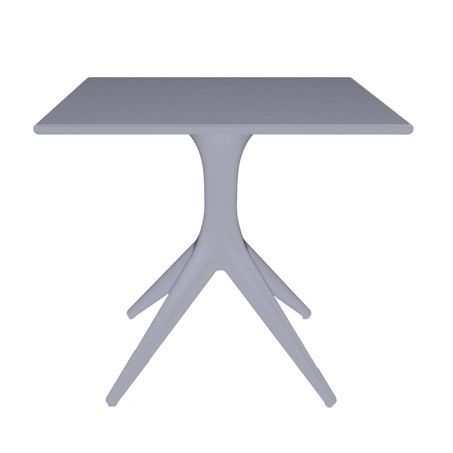Driade app outdoor table 80x80cm ambientedirect