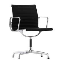 Vitra - EA 104 Aluminium Chair Armlehnstuhl Leder