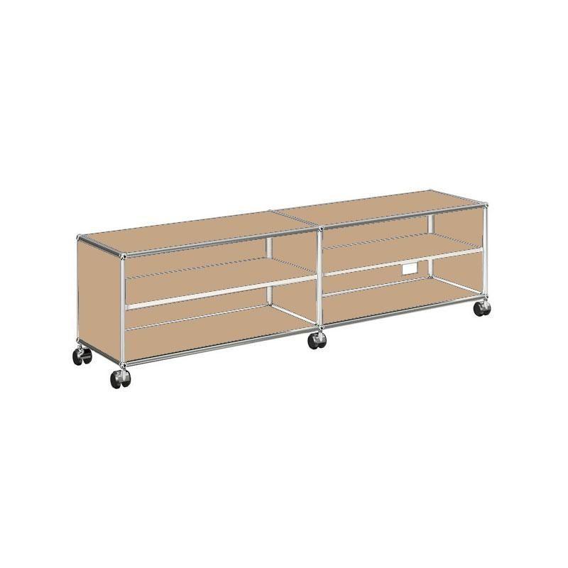 usm sideboard pour tv hi fi h 43cm usm haller. Black Bedroom Furniture Sets. Home Design Ideas