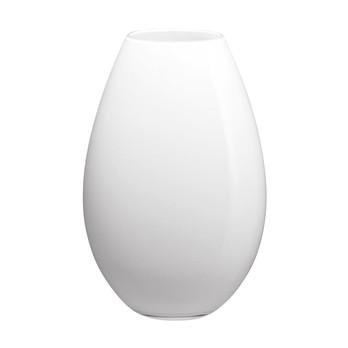 Holmegaard - Cocoon Vase 20.5cm - weiß