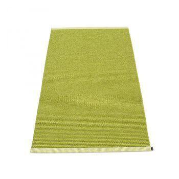 pappelina - Mono Teppich 85x160cm - limettengrün/olive