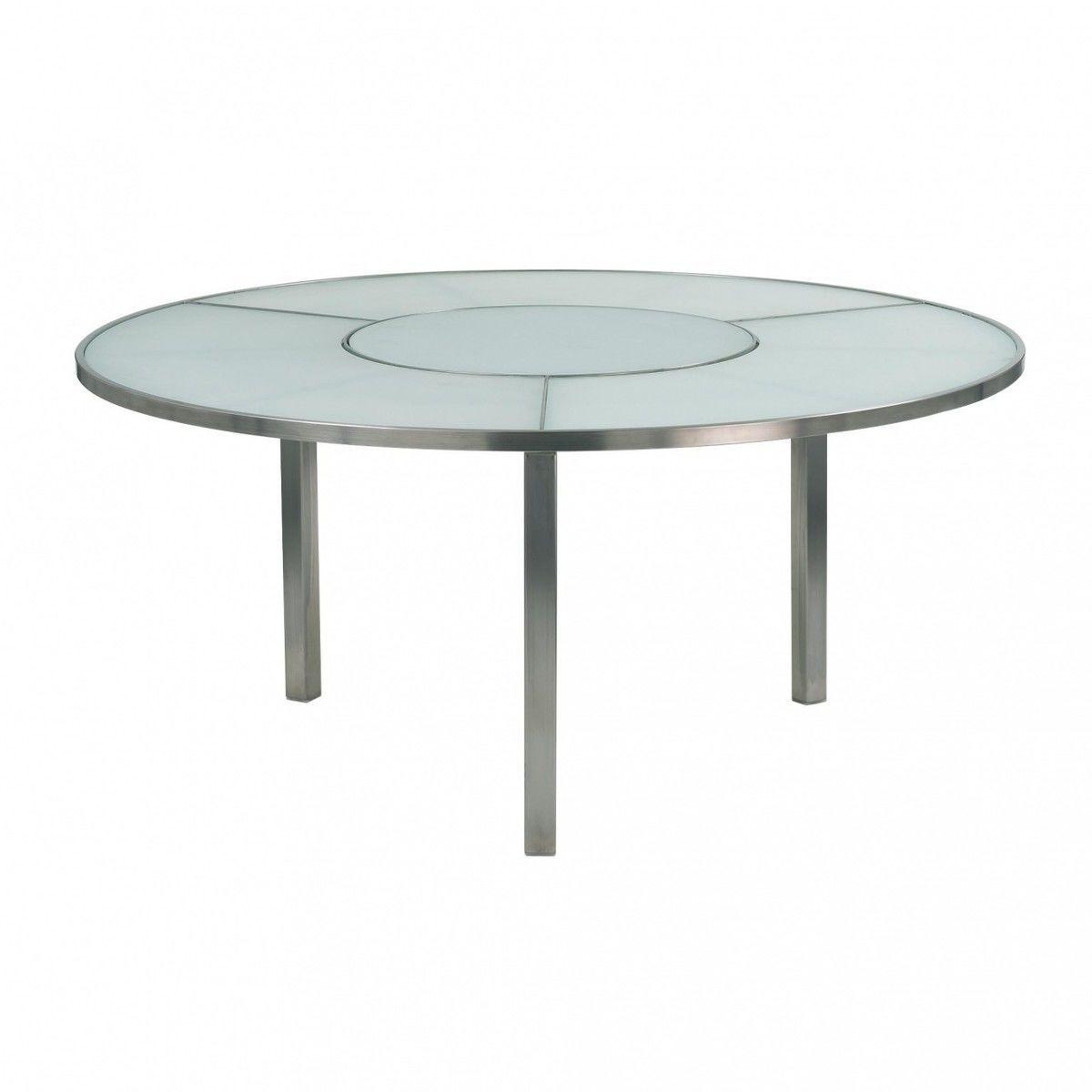 Gartentisch rund weiß  O-Zon Gartentisch rund Ø160 | Royal Botania | AmbienteDirect.com