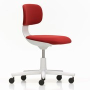 Vitra - Rookie Office Swivel Chair Soft Grey