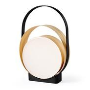 LZF Lamps - Lampe de table LED Loop structure noire