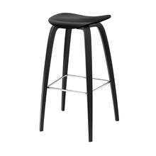 Gubi - Gubi 2D Counter Stool Barhocker Holzgestell