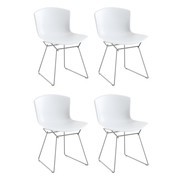Knoll International - Bertoia Plastic Side Chair Set Of 4