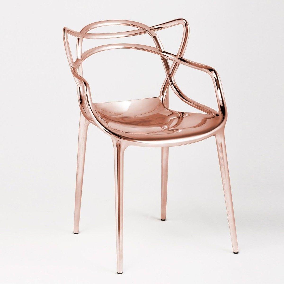 masters metallic chaise kartell. Black Bedroom Furniture Sets. Home Design Ideas