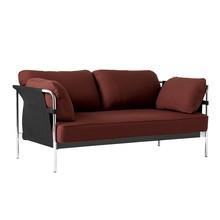 HAY - Can 2.0 2-Sitzer Sofa Gestell Stahl verchromt