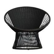 Jan Kurtz - Ray Lounge Sessel - schwarz/82x75x72cm