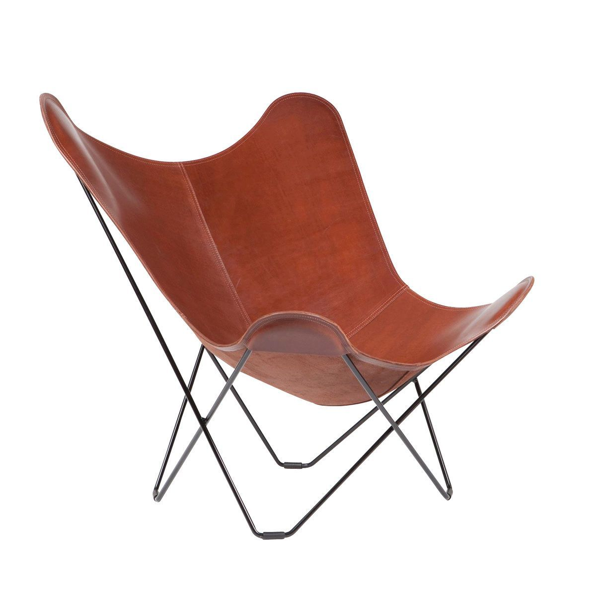 Pampa Mariposa Butterfly Chair cuero