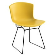 Knoll International - Bertoia Plastic Side Chair Frame Black
