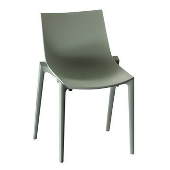 Magis - Zartan Basic Stuhl - hellgrün/für Innen- und Außenbereich geeignet/stapelbar (4)