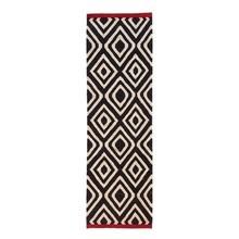 Nanimarquina - Mélange Pattern 1 Kilim / Wool Carpet 80x240