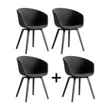 HAY - Set promo '3+1' AAC 23 structure frêne teintée noire