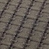 GAN - Garden Layers Checks Teppich 180x240cm - grün/Handwebstuhl