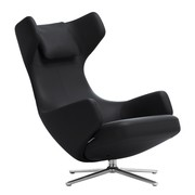 Vitra - Fauteuil Grand Repos cuir prime
