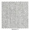Muuto - Outline Sofa 3 Sitzer - hellgrau/Stoff Vancouver 14/BxHxT 220x69.5x84cm/Gestell Aluminium schwarz: pulverbeschichtet