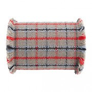GAN - Garden Layers Big Roll Tartan Cushion