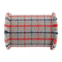 GAN - Garden Layers Big Roll Tartan Kissen
