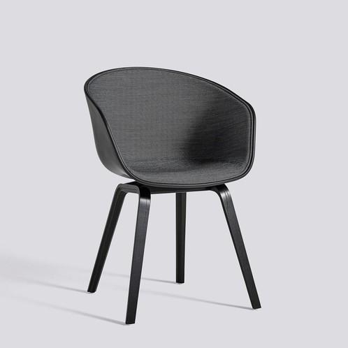 HAY - About a Chair 22 mit Spiegelpolster Unicolor