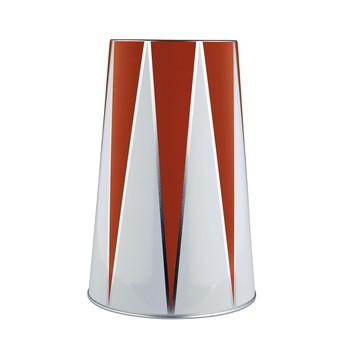 Alessi - Circus MW32 Vakuum Flaschenkühler - rot weiß/H 24,2cm, Ø 15,8cm, 120cl