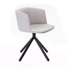 Lapalma - Cut Armchair Upholstered Wood Frame Black